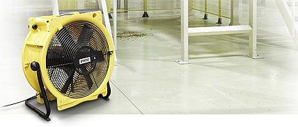 TTV4500 ventilator opstelling